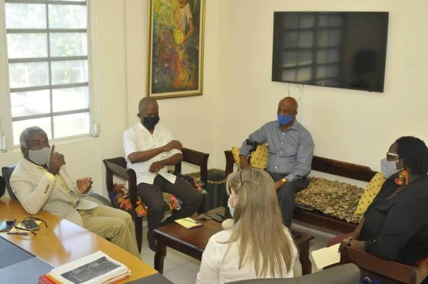 Pradel Henriquez multiplie des rencontres pour renforcer L'INAMUH