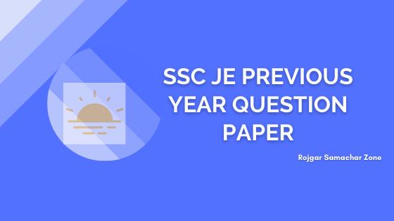 ssc je previous year papers pdf