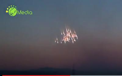 Rusia Kembali Gunakan Bom Fosfor di Dier Zour