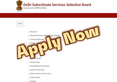 DSSSB Assistant & Various Post Recruitment 2020 Notification out Apply Now