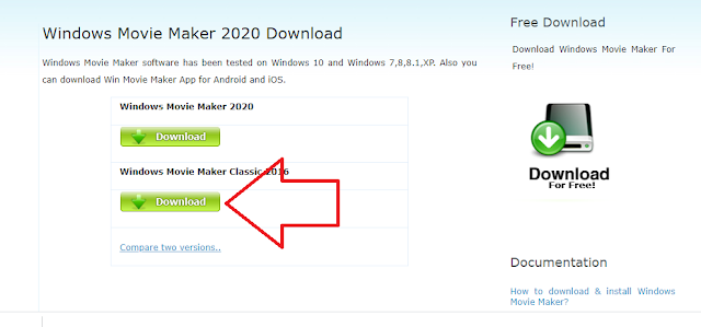Download Movie Maker Classic 2016
