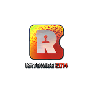 Sticker (naklejka) Reason Gaming | Katowice 2014 (Holo)