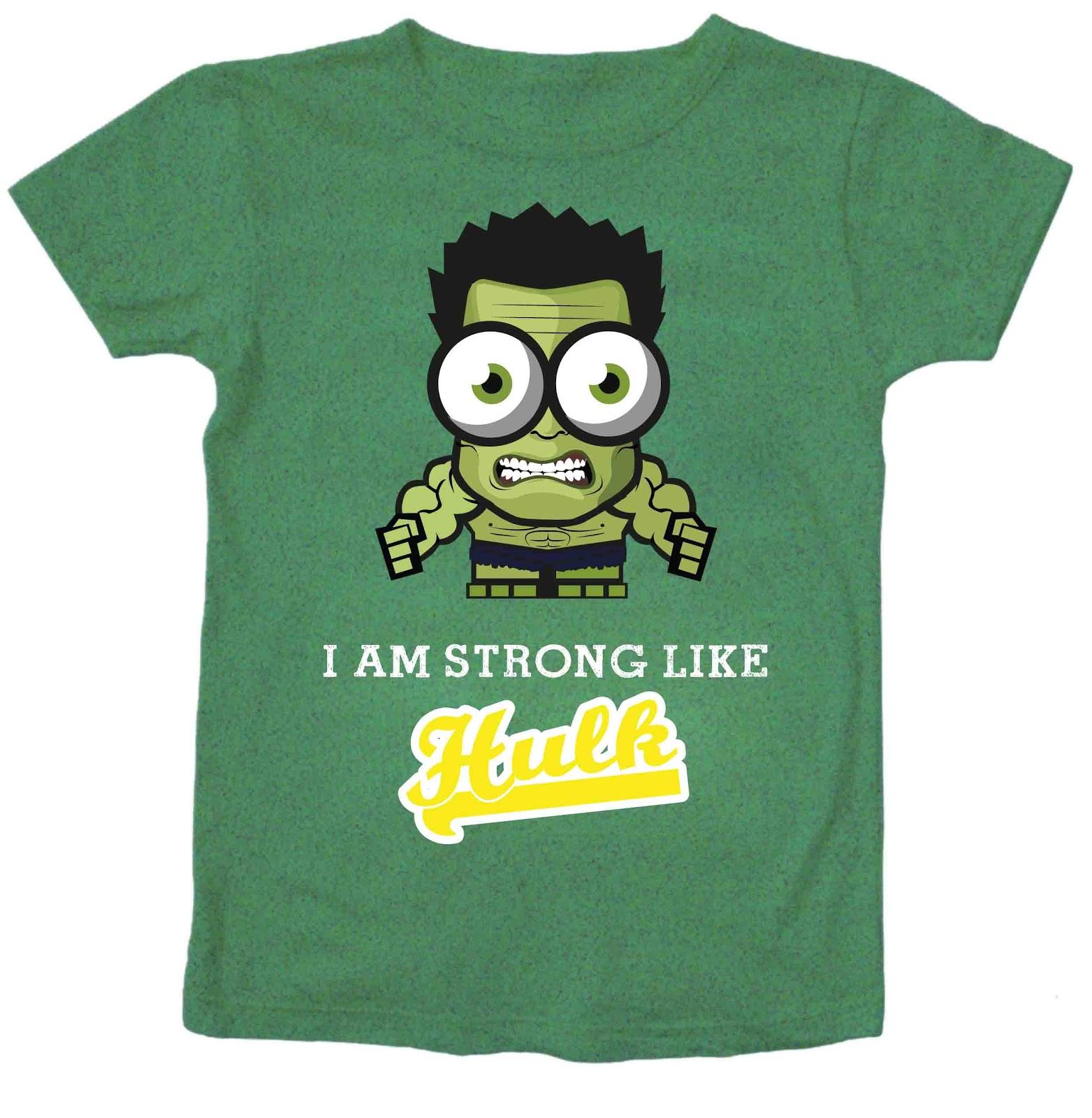 Baju Superhero Hulk Yang Lucu Dan Unik Wonder Kidz