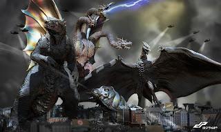 godzilla king of monsters: comienza el rodaje. Otros monstruos confirmados