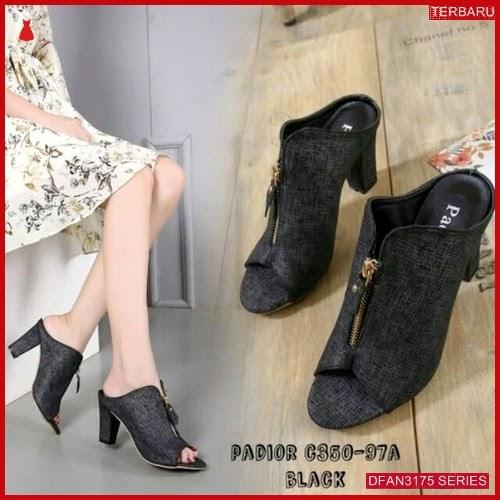 DFAN3175S44 Sepatu Ml 16 Hak Wanita Tahu Sepatu BMGShop