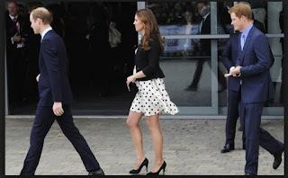 Kate Middleton en Estudios Warner Bros