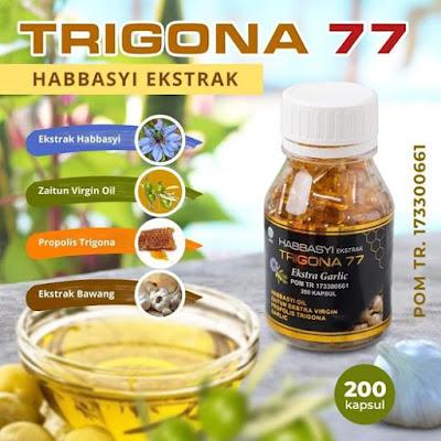Habbasyi Ekstrak Trigona 77 Ekstra Garlic Zaitun Propolis