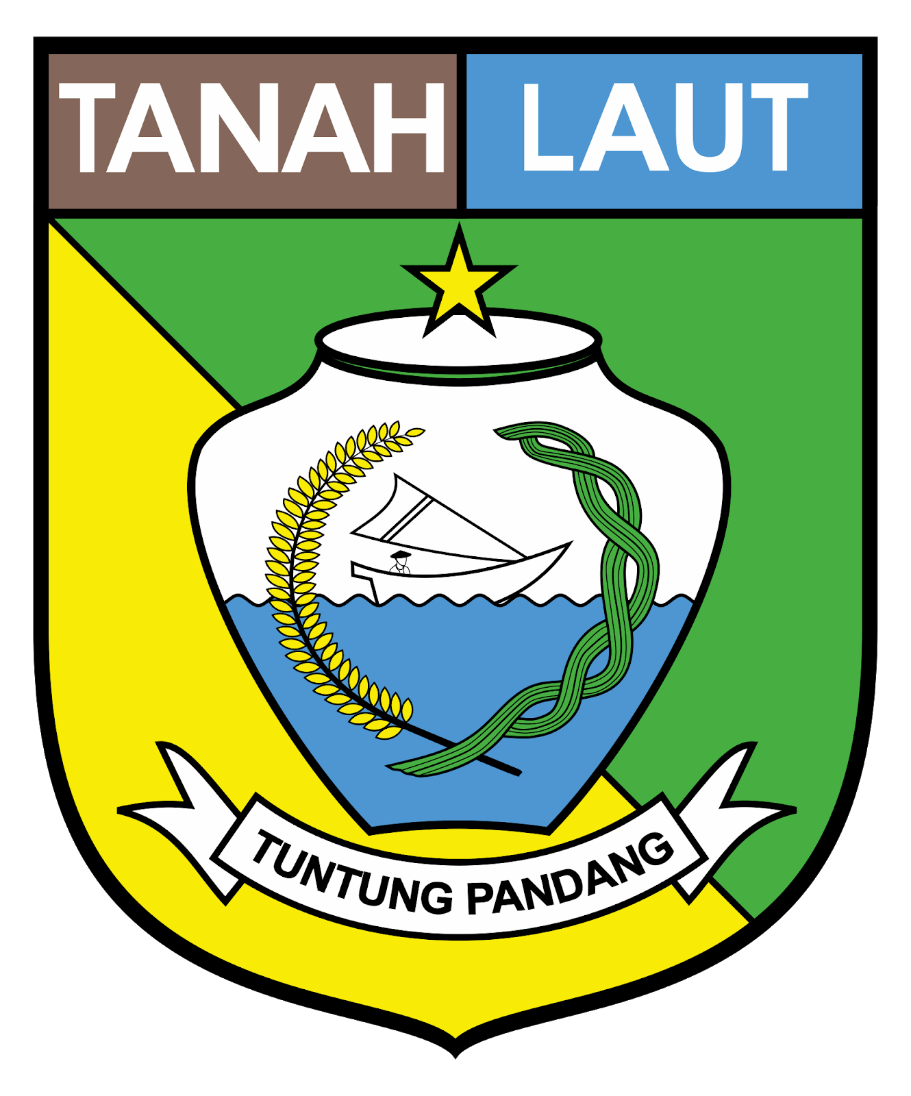 Download Kabupaten Tanah Laut Vector Logo Idn Grafis