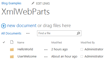 SharePoint 2013: Build a Webpart using HTML, JavaScript and