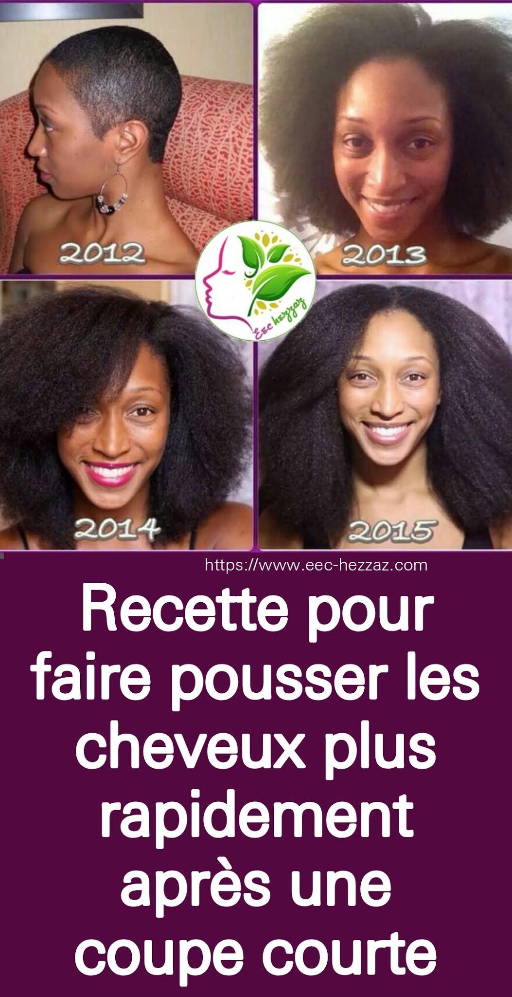 Recette pour faire pousser les cheveux plus rapidement après une coupe courte