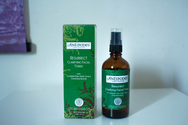 Antipodes Certified Organic Resurrect Facial Toner on Pull Down The Moon