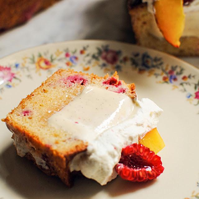 Cake Pesca Melba con Pesche, Lamponi e Gelato alla Vaniglia | Cool Chic Style Fashion