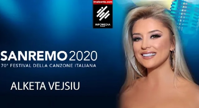Alketa Vejsiu è una delle 10 donne da presentare al festival di Sanremo 2020