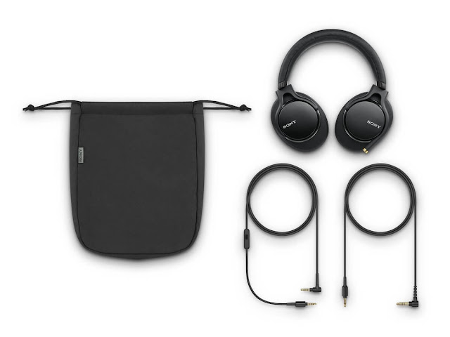 Sony MDR1AM2 Wireless High Resolution Overhead Headphones Black