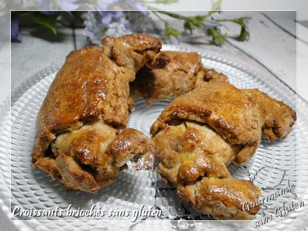 croissants briochés sans gluten
