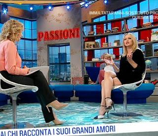 Anna Falchi intervista serena Bortone