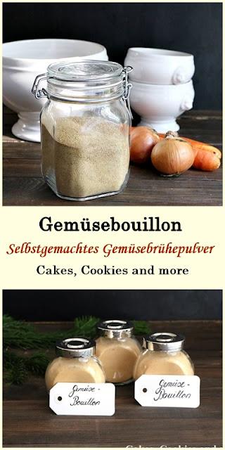 Rezept für Bouillonpulver - Gemüsebrühepulver