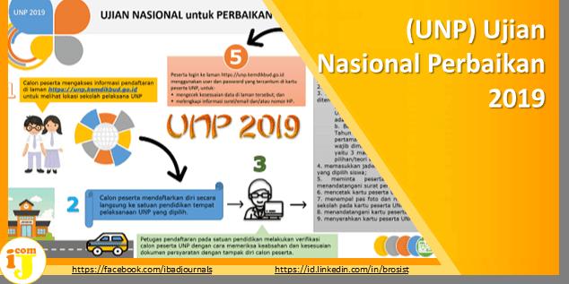 (UNP) Ujian Nasional Perbaikan 2019