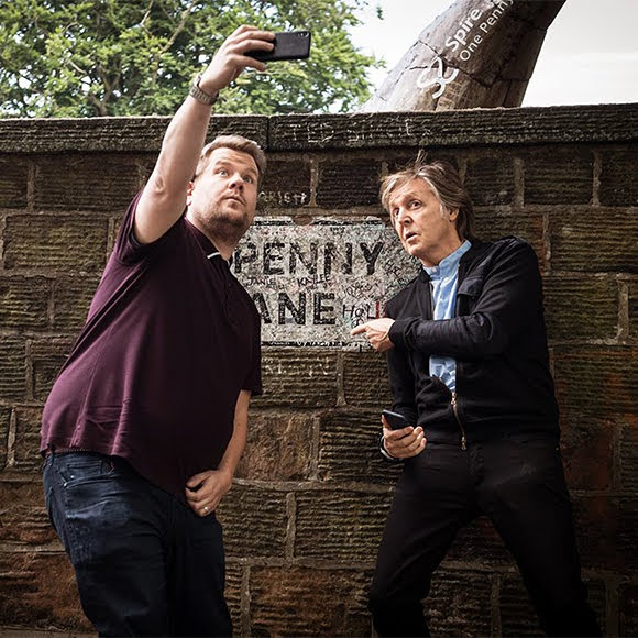 Séquence émotion du «Carpool Karaoke» de Paul McCartney à Liverpool