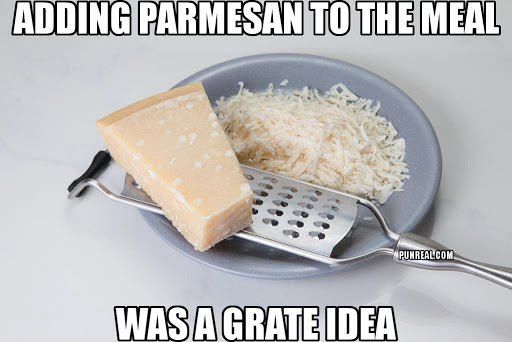 This is a grate cheese pun.