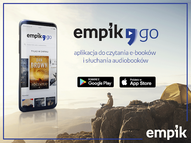 Nowa aplikacja do czytania e-booków i słuchania audiobooków - EmpikGO!