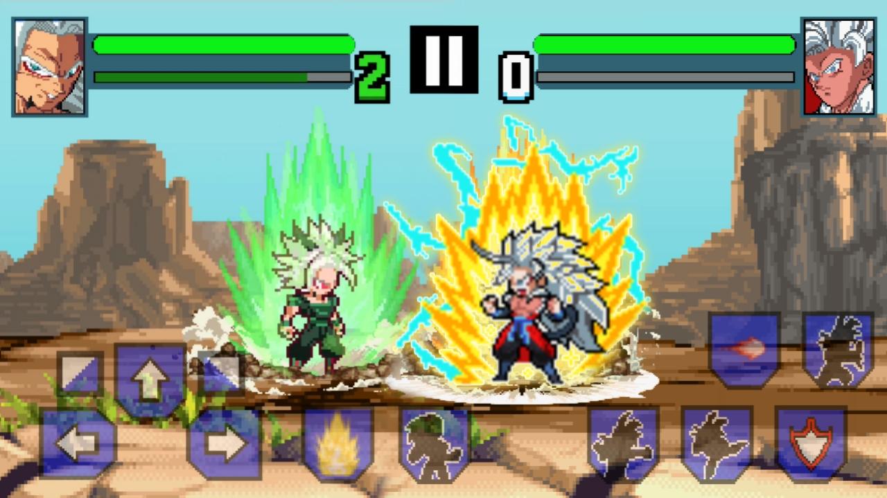 Goku SSJ5 Vs Xicor