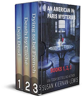 An American in Paris Mysteries: Books 1,2,3 - pageturners book promotion sites Susan Kiernan-Lewis