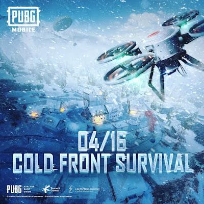Pubg update 'Cold front survival'