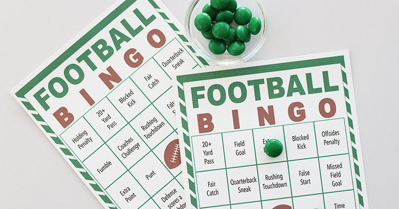 photo regarding Free Printable Football identified as No cost Printable Soccer Bingo for Match Working day Pleasurable Sunny Working day