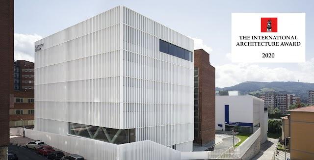 El Edificio Biocruces Bizkaia recibe un premio internacional