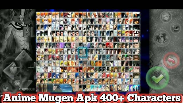 Bleach Vs Naruto Mugen APK 400+ characters