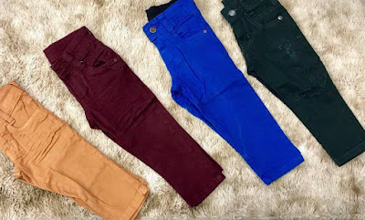 Revenda calça jeans infantil