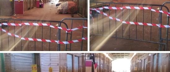 سوق الأحد بأكادير يعود ليفتح أبوابه من جديد بعد الإغلاق الذي طاله بسبب فيروس كورونا :