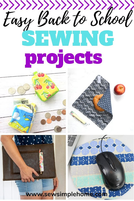 Make this school year unique with these simple sewing projects for back to school.