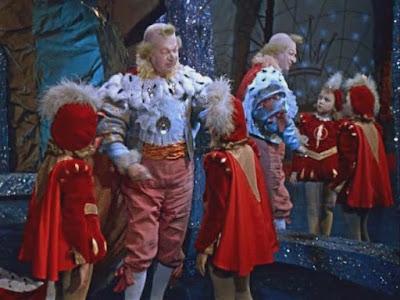 """Королевство кривых зеркал""   1963 г.  реж. Александр Роу"