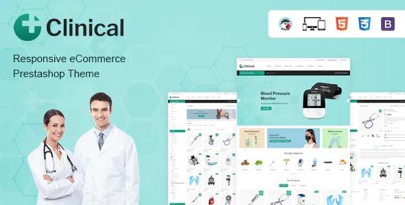 Best Health Medical Prestashop Theme