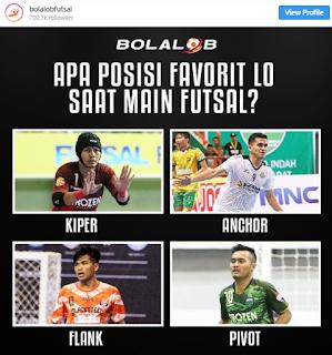 Posisi dan Jumlah Pemain Futsal Beserta Tugasnya