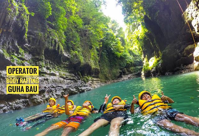Perjalanan Body Rafting
