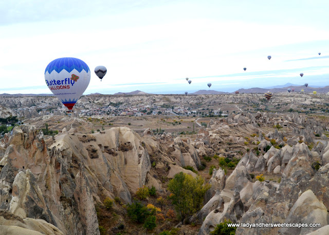 Hot air balloons in Goreme