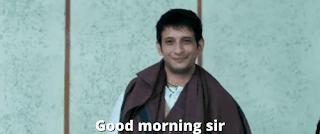Good morning sir | 3 idiots meme templates