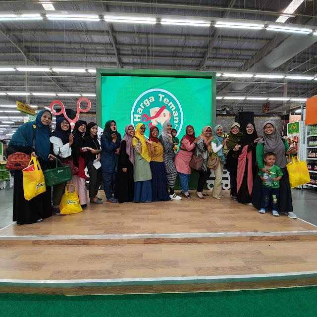 Bersama Blogger Surabaya Saat Launching Harga Teman Giant