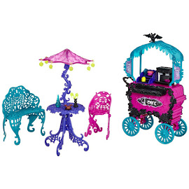 MH Scaris: City of Frights Café Cart Doll