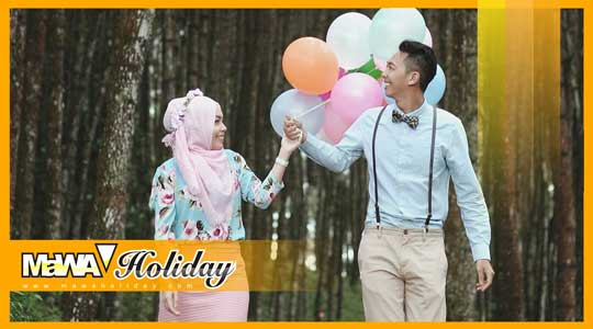 bukit moko Sering di gunakan tempat pengambilan foto prewedding