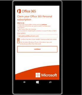 Cara Redeem Aktivasi Office 365 Personal di Lumia 640 & Lumia 640 XL