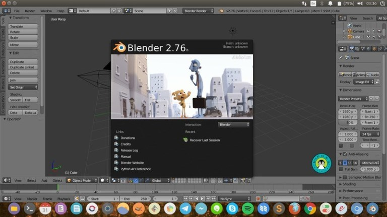 Blender Video Editing Tool