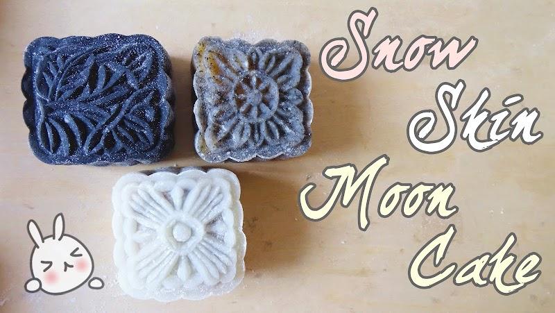 Snow Skin Moon Cakes 冰皮月餅