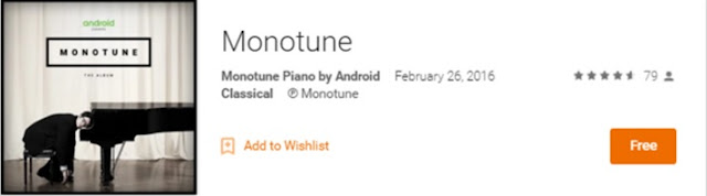 "Download Google's Monotune Entire Album in Free : Album has been recorded by People who made ""Monotune"""
