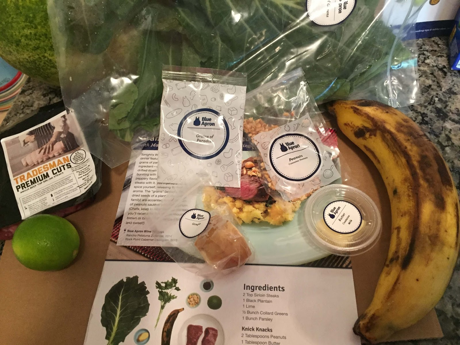 Blue apron omaha - I Have Eaten A Few Plantains Out And About But I Had Never Cooked One And The Trial Spice In This Go Round Was Grains Of Paradise