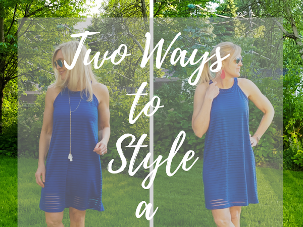 Two Ways to Style a Sporty Dress