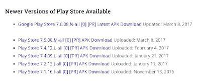εγκατασταση Play Store